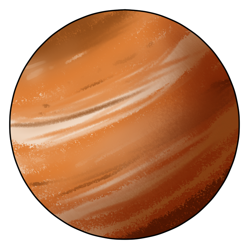 Planets clipart red planet. Free jupiter cliparts download