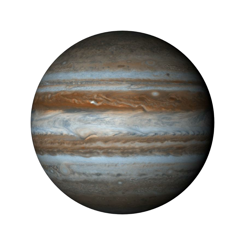 Jupiter planet png. Transparent pictures space facts