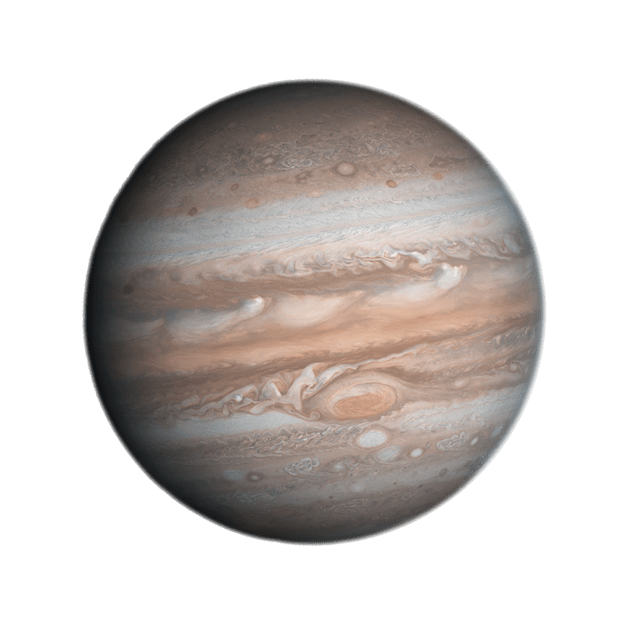 Jupiter transparent png. Planet background