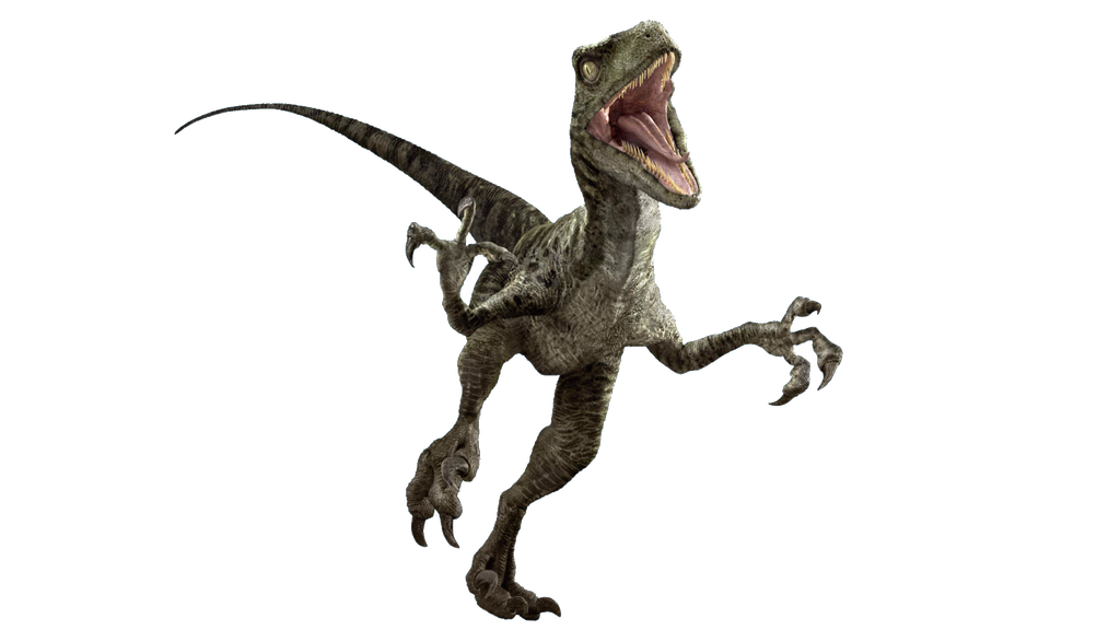 Velociraptor transparent delta. Jurassic world v by