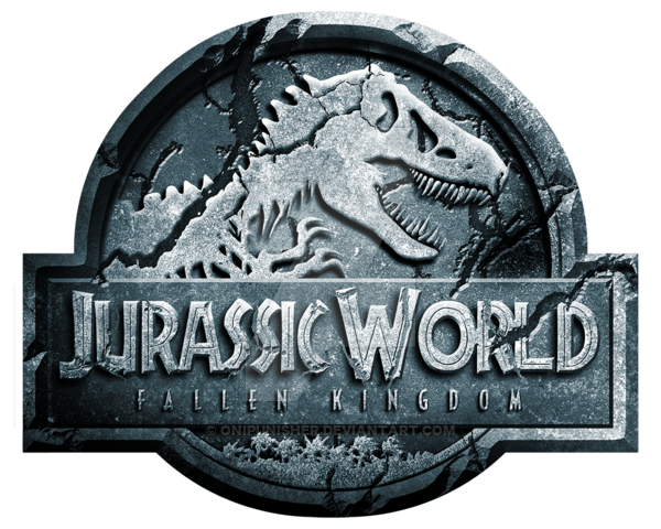 Jurassic world fallen kingdom logo png. By onipunisher on deviantart