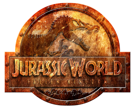 Jurassic world fallen kingdom logo png. Rusted by onipunisher on