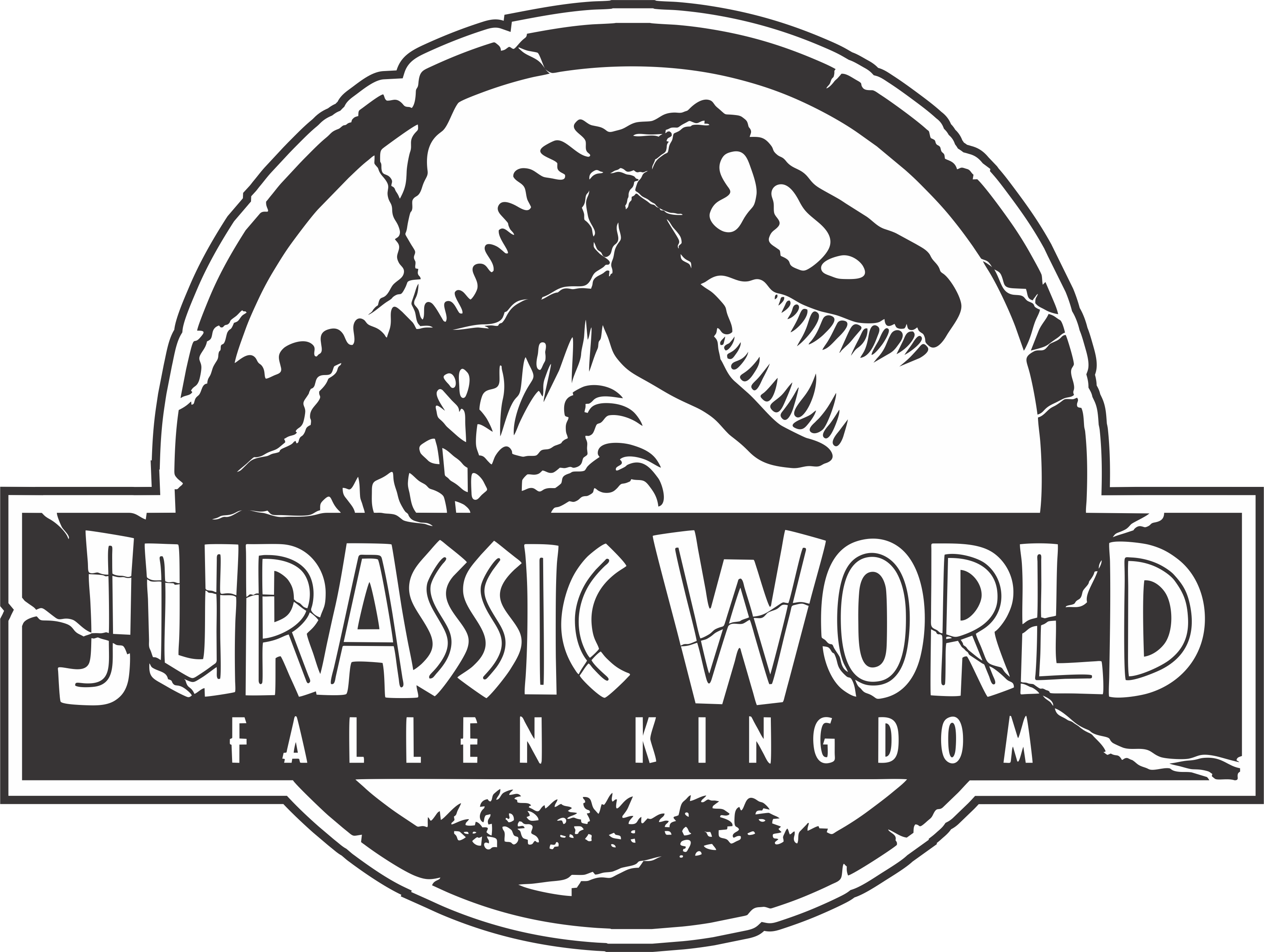 Jurassic world logo png. Fallen kingdom d designs
