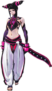 Fighter drawing position. Juri street wikipedia character