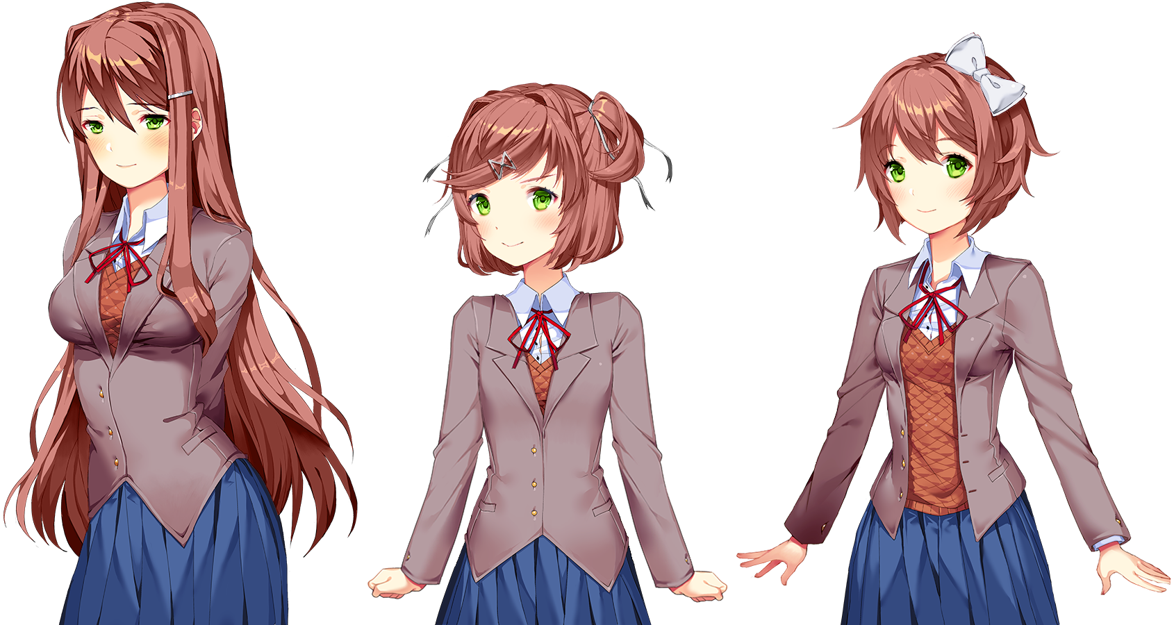 Just monika png. What if everyone had