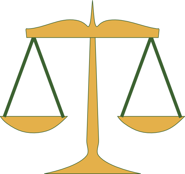 Justice clipart. Scales of clip art