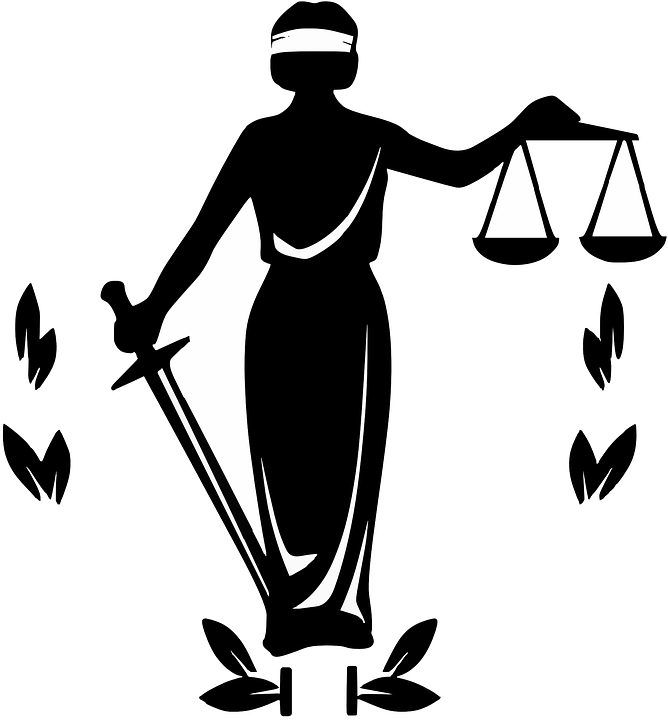 Justice clipart political science. Barron is not blind