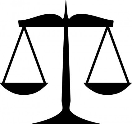 Scales of vector clip. Justice clipart resource svg transparent