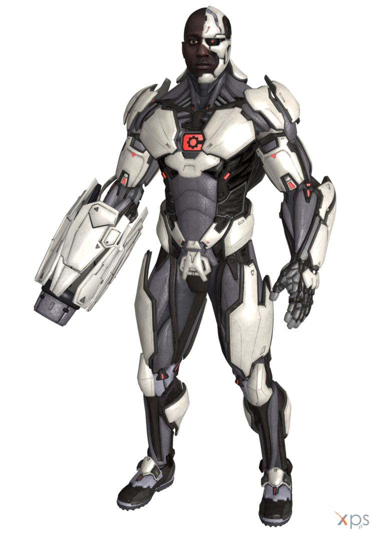 Justice league cyborg cannon png. Injustice by ogloc on