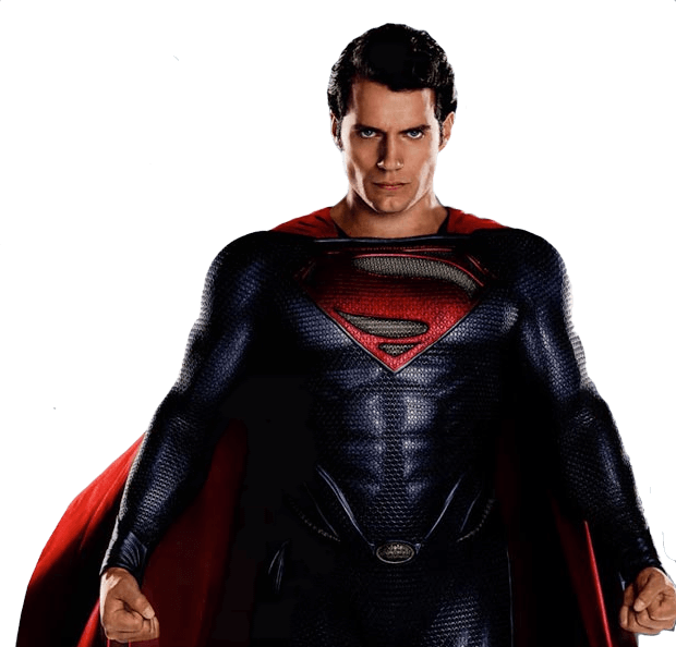 Movie superman. Realistic real png