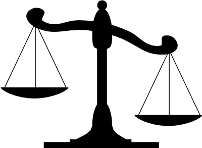 Justice transparent. Scales of png images