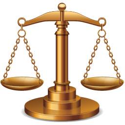 Justice transparent balance. Icon or application iconset