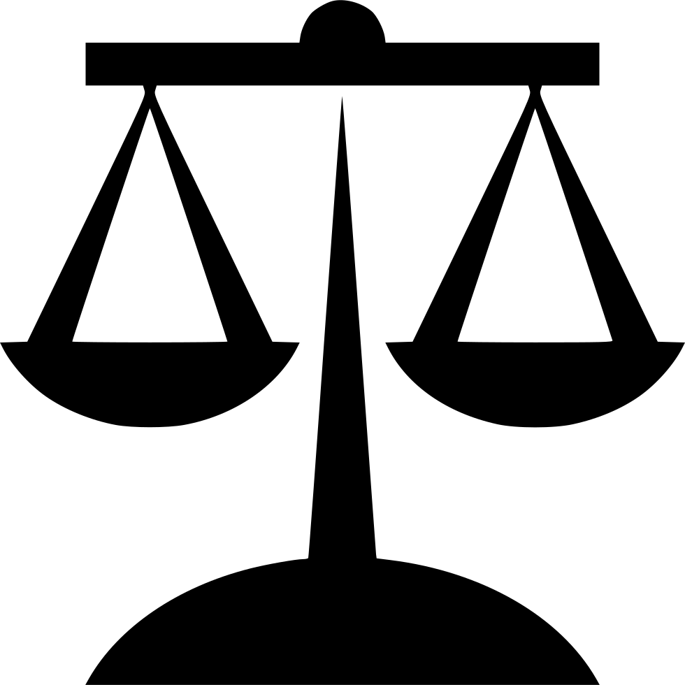 Justice transparent law. Balance svg png icon
