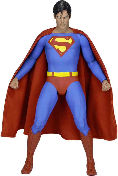 Justice transparent superman christopher reeve. Th scale action figure