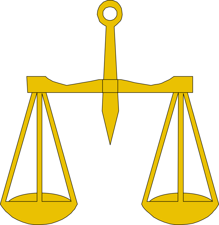 Justice transparent weight. Measuring scales lady balans