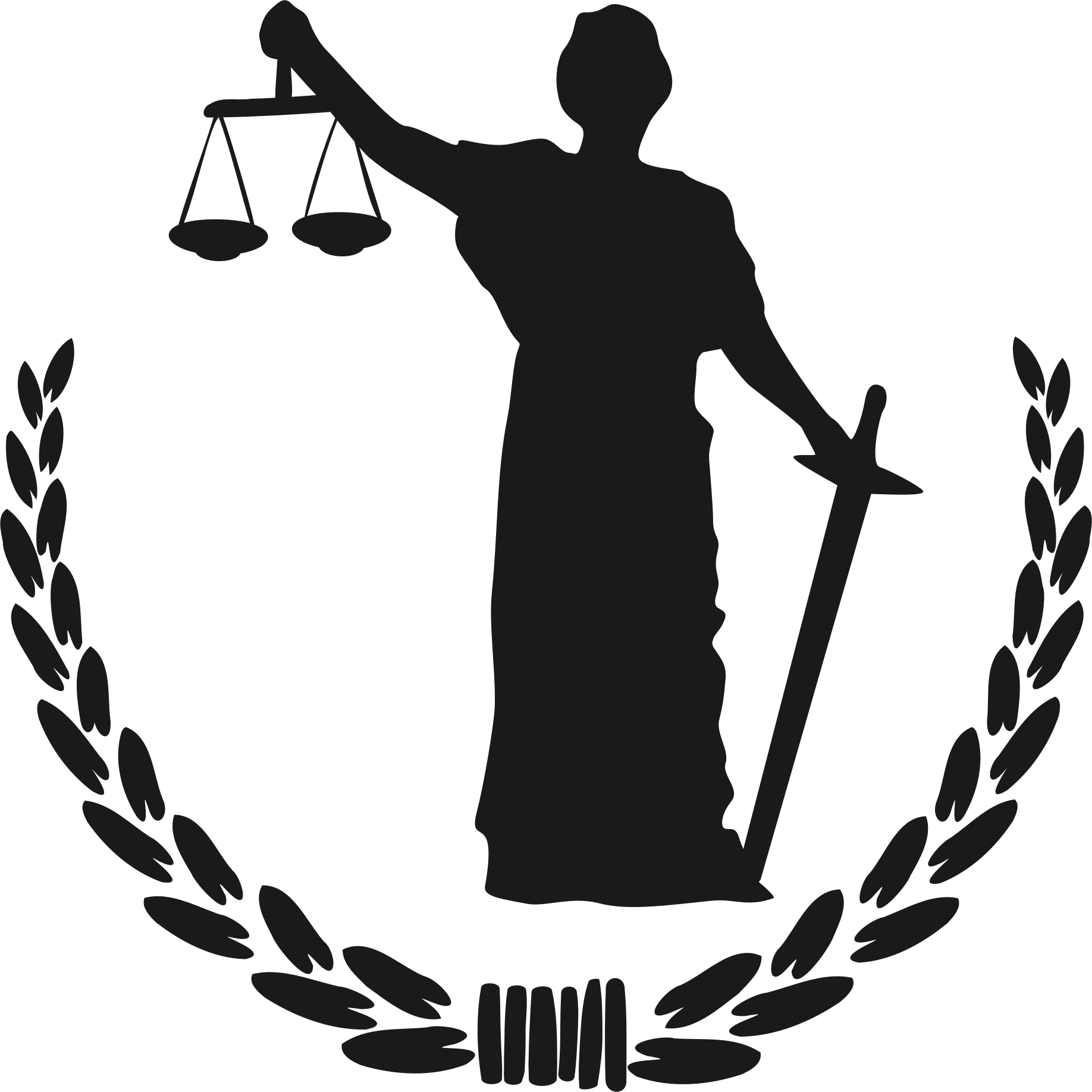 Justice vector clipart. Goddess of big image