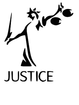 Justice vector lady. Symbol png image