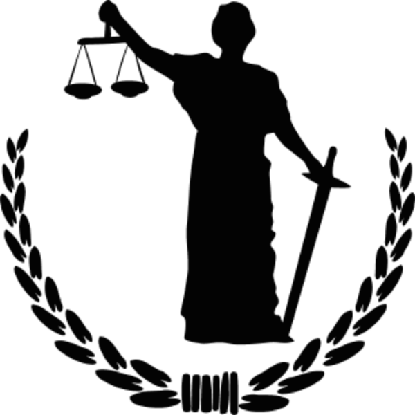 Justice vector lady. Collection of clipart
