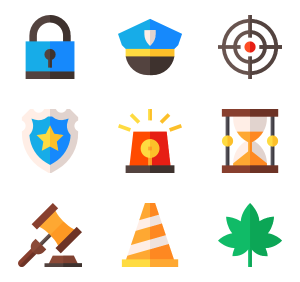 Justice vector simple. Scale icons free law