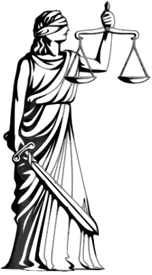 Justice vector vintage lady. The innocence project when