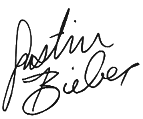 Justin bieber signature png. The meaning of your