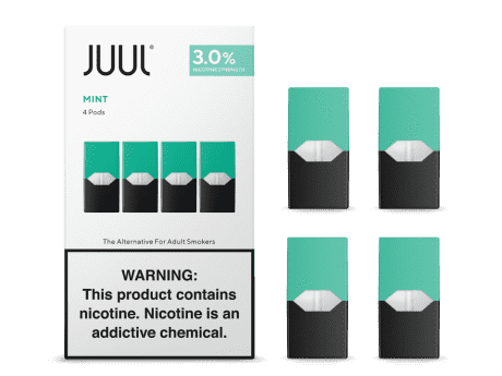 Juul transparent brand new. Cool mint free shipping