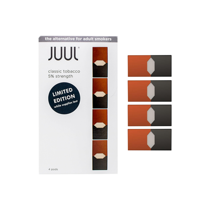 Juul transparent special edition. Pods