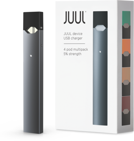 juul transparent limited edition blue