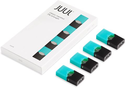 Juul transparent limited edition blue. Pod classic menthol price
