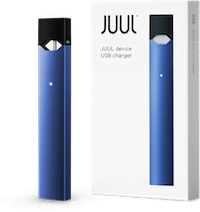 Juul transparent limited edition blue. Navy device kit free