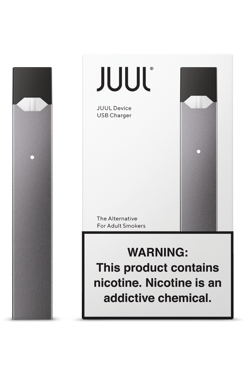 Juul transparent nicotine. Device kit free shipping