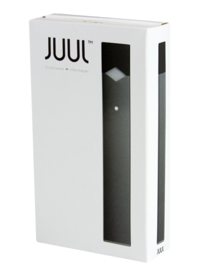 Juul transparent package. The device kit slimjim