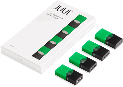 Juul transparent special edition. Pod cucumber limited price