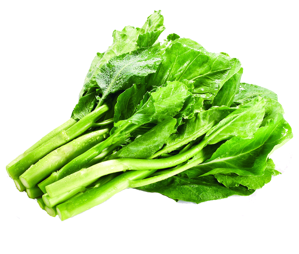 Kale transparent lettuce. Romaine vegetarian cuisine chinese