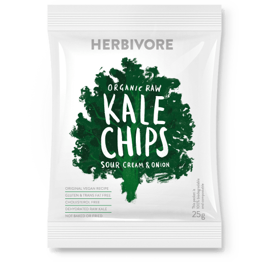 Kale vector leafy. Chips sour cream onion