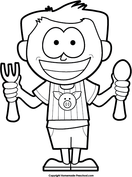 Hungry clipart hungry person. Someone drawing clip art