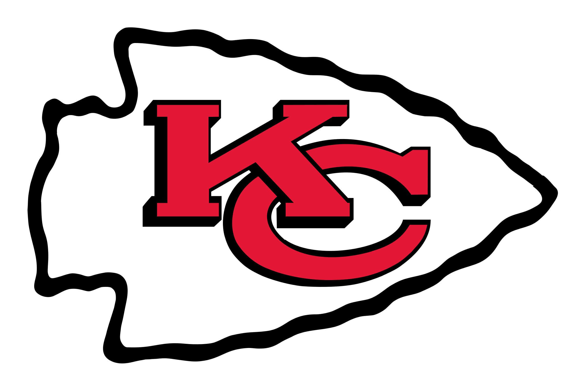 Kansas city chiefs logo png. Transparent svg vector freebie