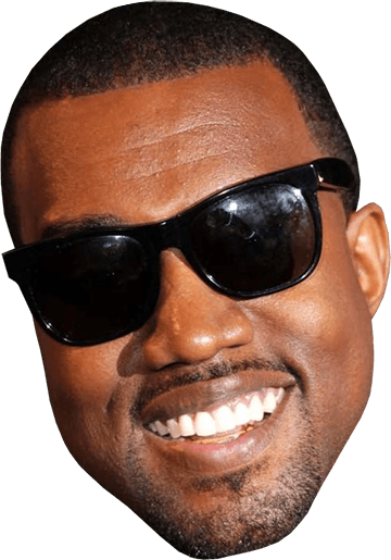 Kanye west png. Smiling face transparent stickpng