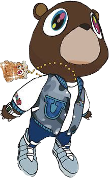 Kanye west graduation png. The newest stickers on