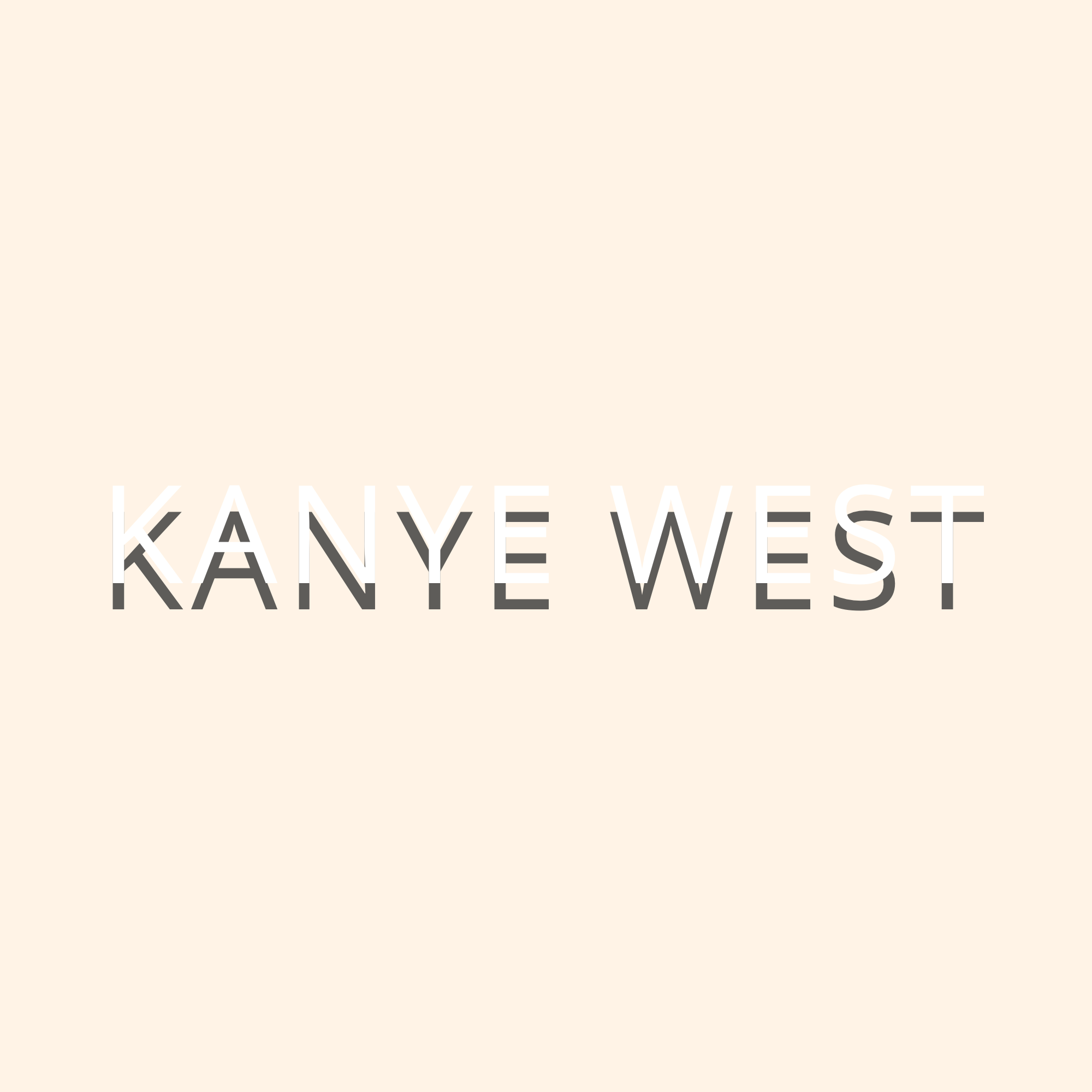 Kanye west logo png. Outland visual test copyxpng