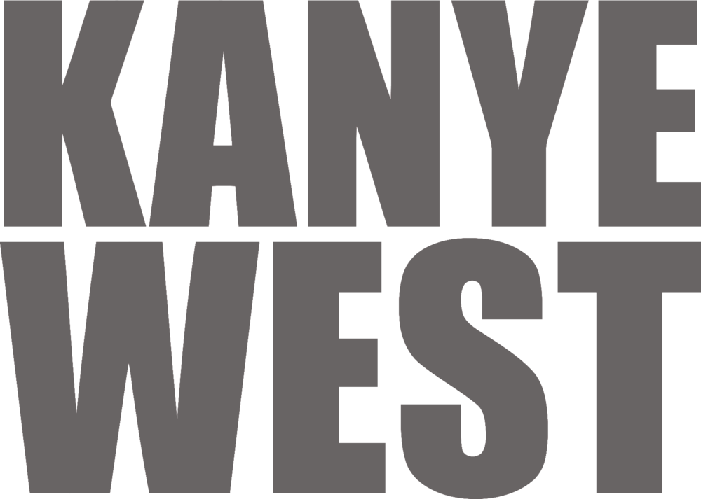 Kanye west logo png. Clients km productions greypng