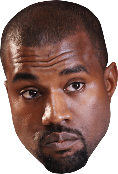 Kanye west png. Concerned transparent stickpng download