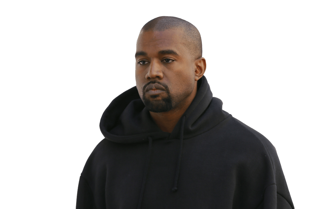 Kanye west png. Hoodie transparent stickpng download