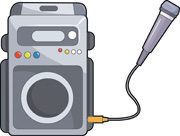 Karaoke clipart machine. Search results for clip