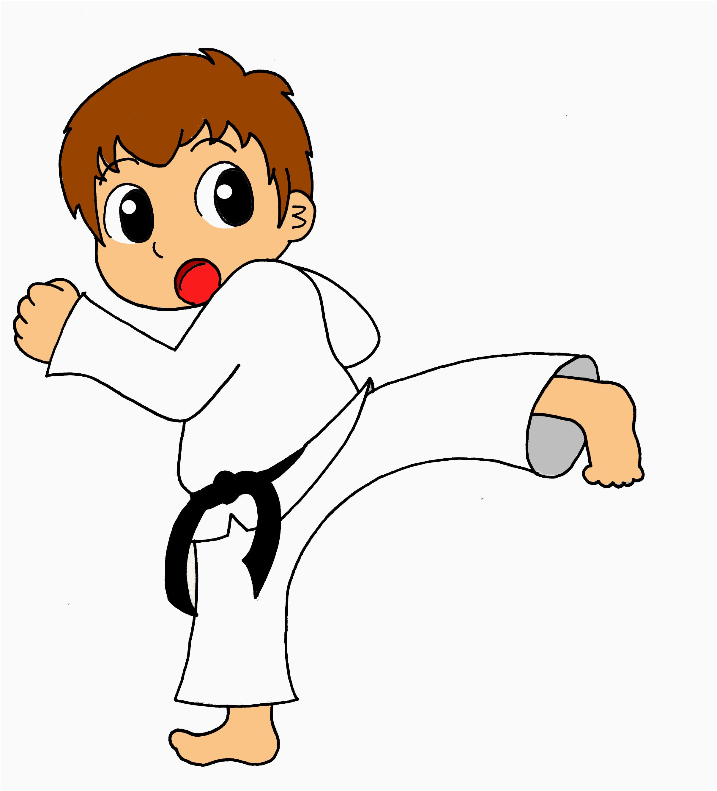 Karate clipart karate chop. Free lovely martial arts