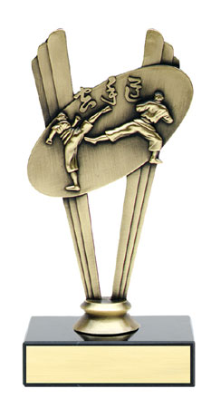 Karate clipart trophy. Pencil and in color