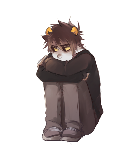 karkat transparent flower crown