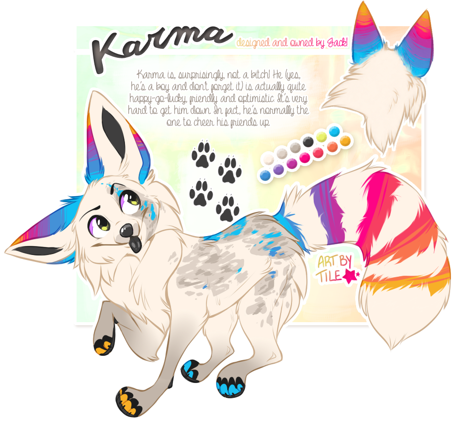 Karma drawing cute. Commission by babywolverines deviantart