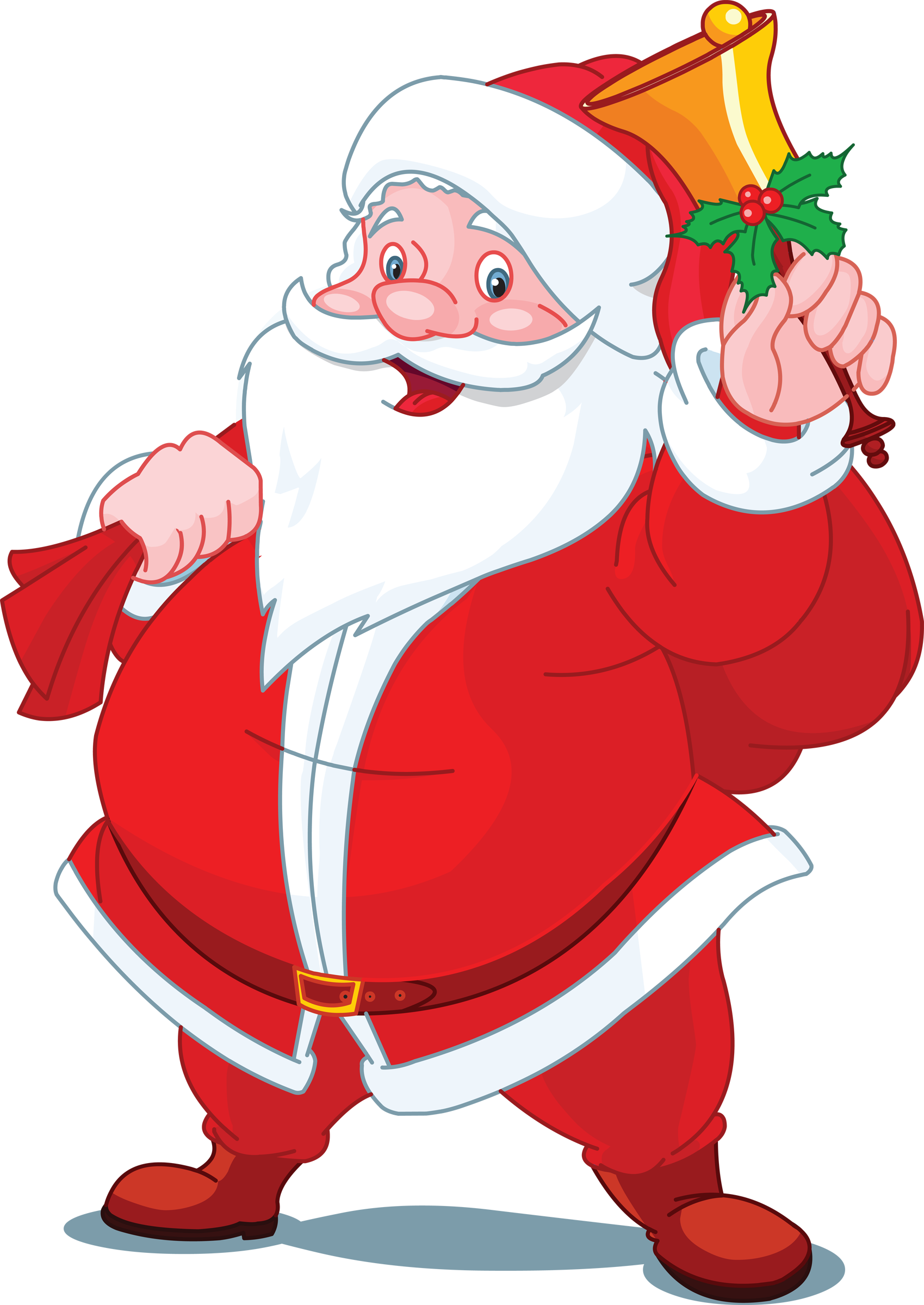 Vector santa different. Claus google search christmas
