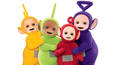 Teletubbies drawing dipsy